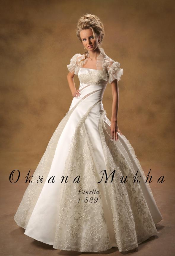 Свадебное платье с фонариками