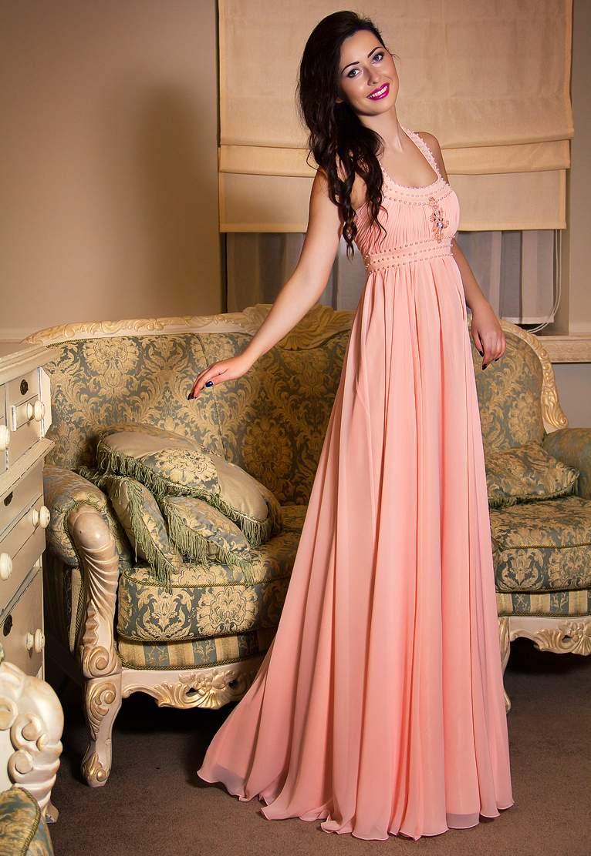 Купить длинное платье Фрейя в интернет магазине Красотка