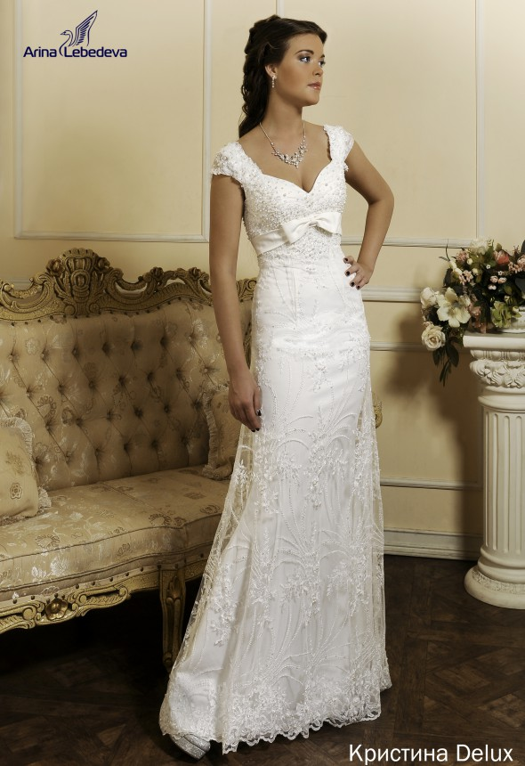 Свадебные платья для венчания. Купить закрытое свадебное платье с