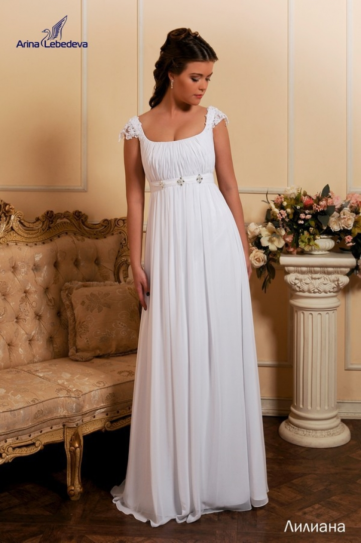 Платья в греческом стиле  для полных