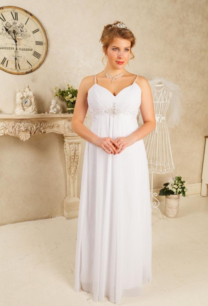 Платья свадебные для беременных 2014 97