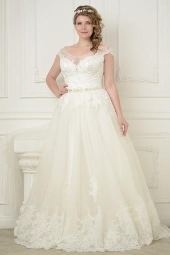 07158a59b90 Свадебные платья больших размеров для полных девушек