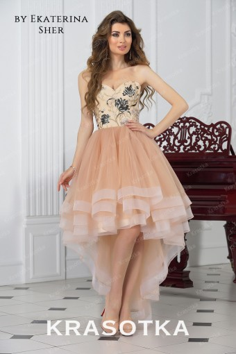 Купить выпускные платья 2018 года недорого в салоне «Красотка» 24d5a38ccee