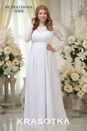 5e5825d0560049a Свадебные платья больших размеров для полных девушек