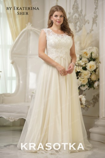 ba888b78146bb73 Свадебные платья больших размеров для полных девушек