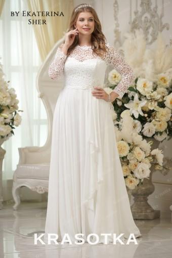 fe4c2e49755 Свадебные платья больших размеров для полных девушек
