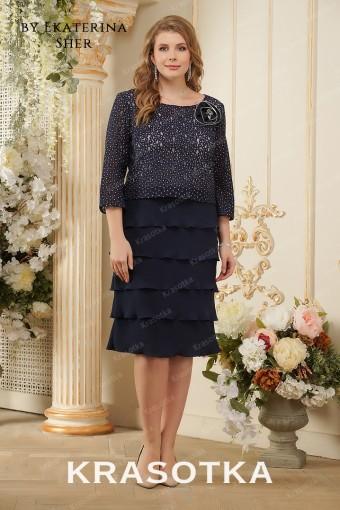 c1e7b163746ab8c Вечерние платья больших размеров для полных женщин в салоне «Красотка»
