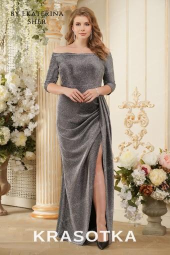 12b5663f955 Вечерние платья больших размеров для полных женщин в салоне «Красотка»