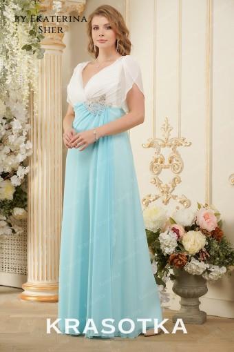 ab73827c77f Вечерние платья больших размеров для полных женщин в салоне «Красотка»